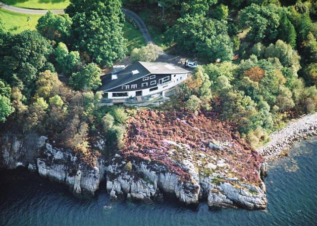 B&B accommodation on a peaceful headland overlooking Loch Broom
